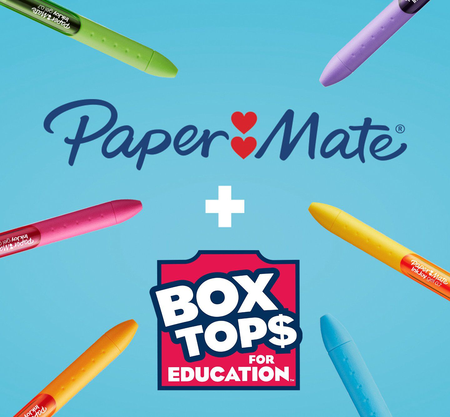 papermate and box tops for education